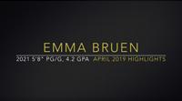 """<strong class=""""sp-player-number"""">3</strong> Emma Bruen"""